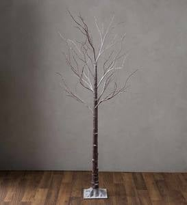Extra Large Indoor/Outdoor Birch Tree with 750 Warm White Lights
