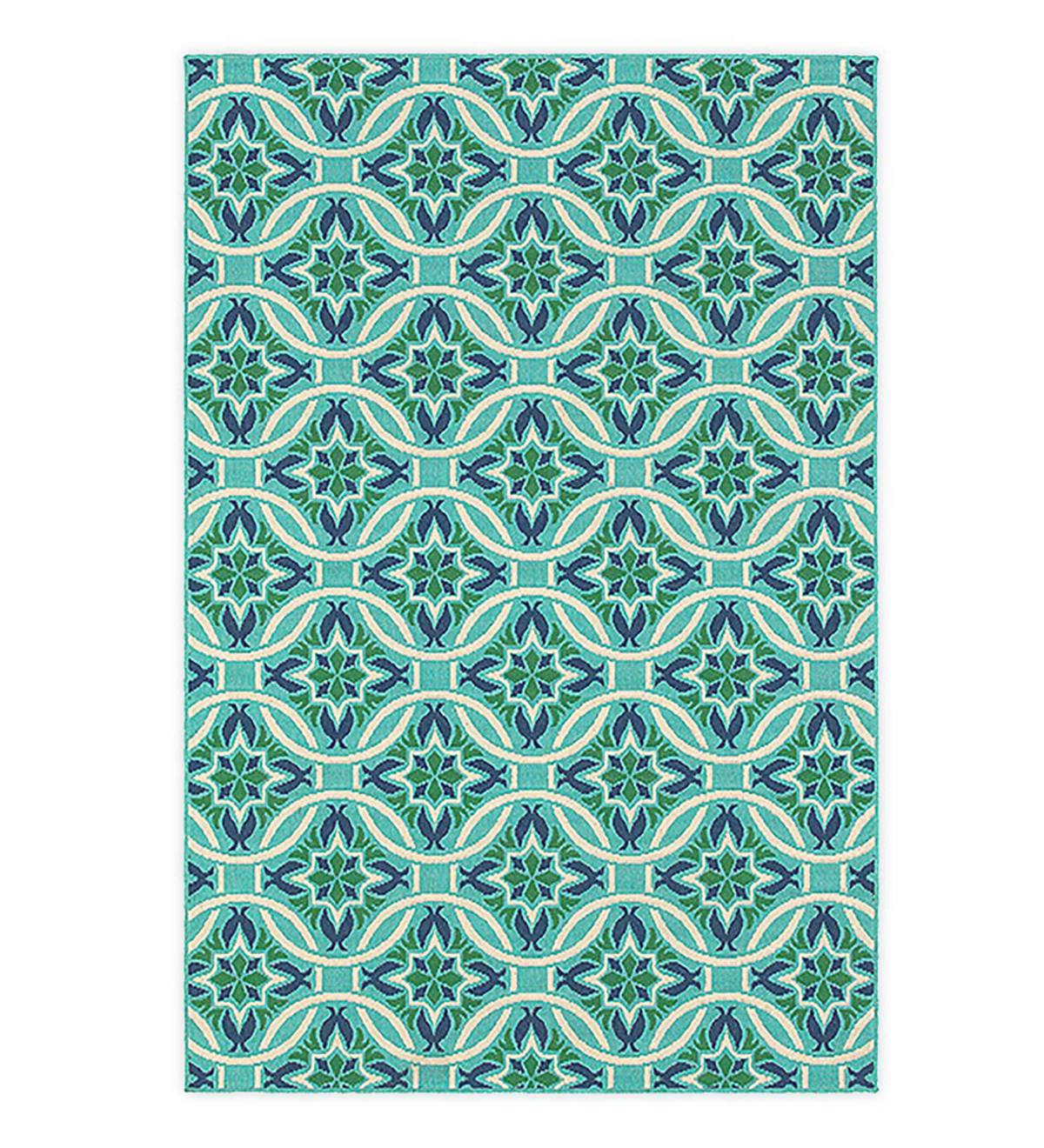 Indoor/Outdoor Lexington Medallion Rug