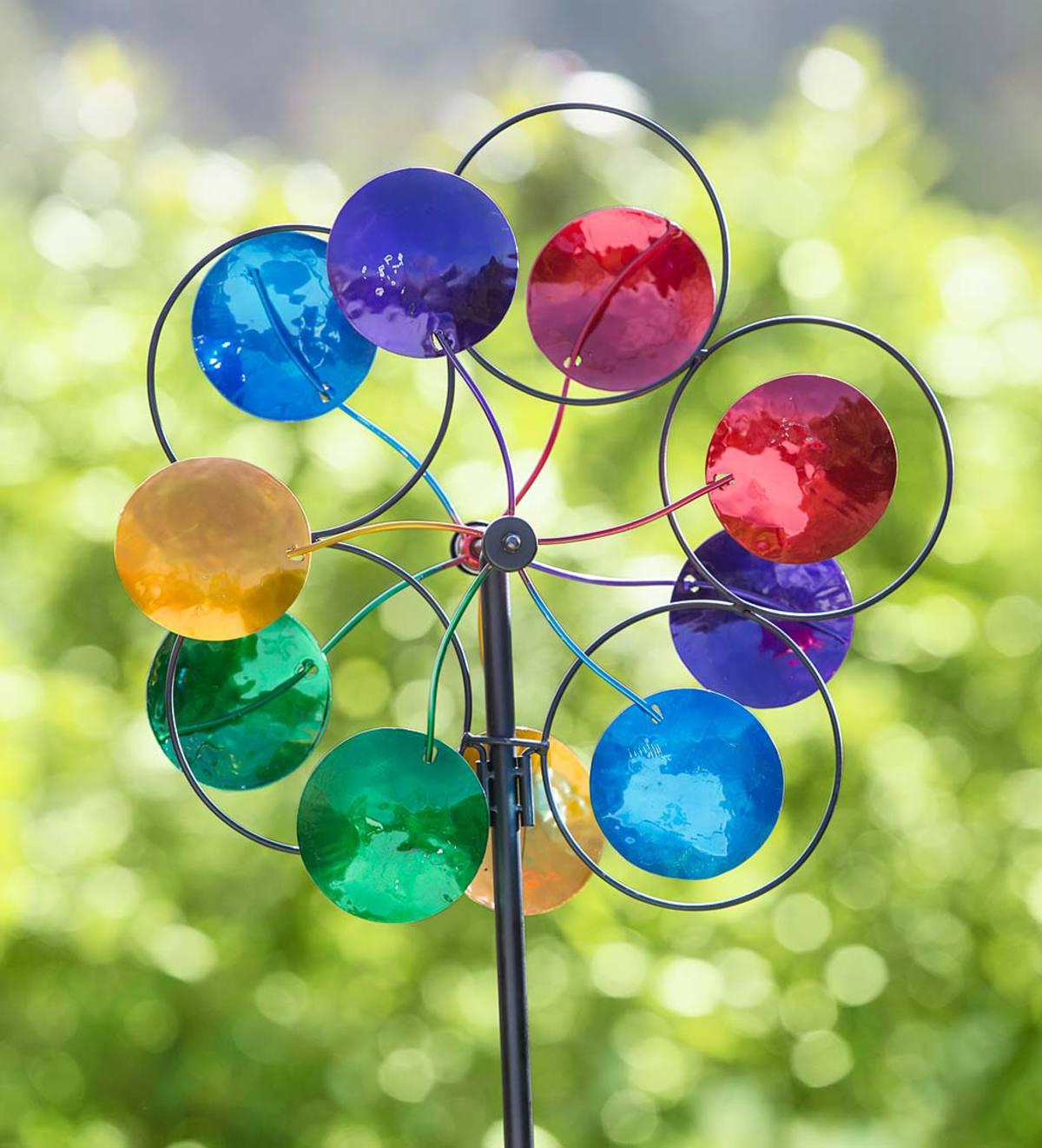 Midi Colorful Circles Wind Spinner