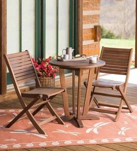 Eucalyptus Outdoor Bistro Furniture