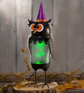 Halloween Lighted Metal Character