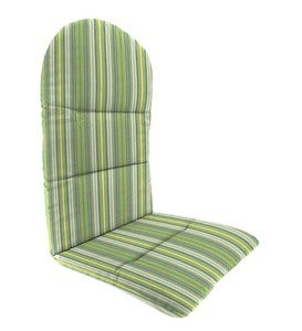 "Sunbrella® Classic Adirondack Cushion, 49""x 20½""x 2½""with hinge 18""from bottom"
