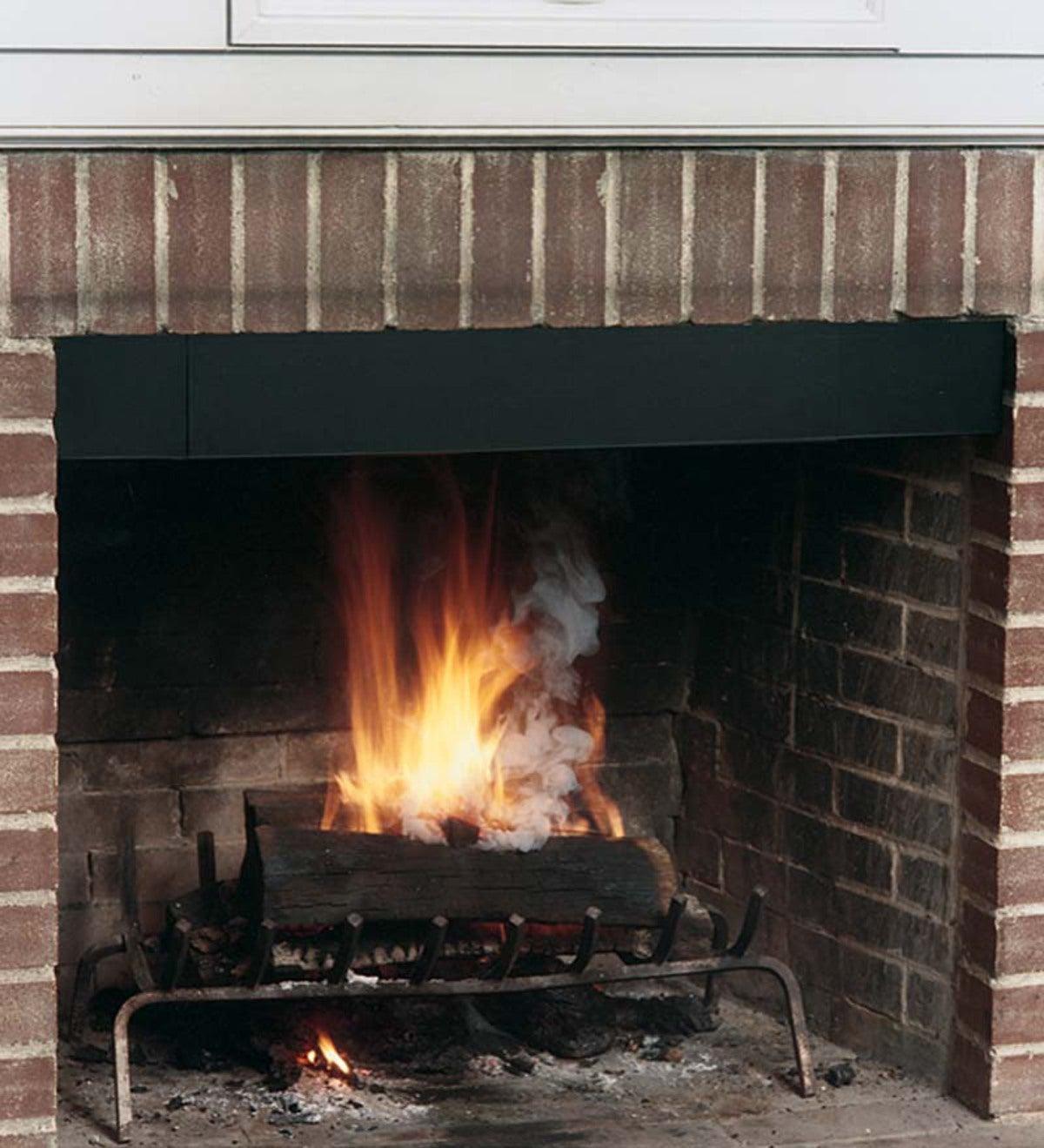 usa made fireplace smoke guard plowhearth rh plowhearth com fireplace smoke guard lowes fireplace smoke guard lowes