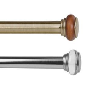 Adjustable Steel Titan Imperial Curtain Rods And Matching Accessories