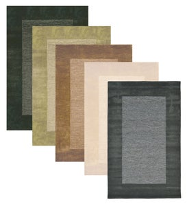 Madrid Banded Wool Area Rug