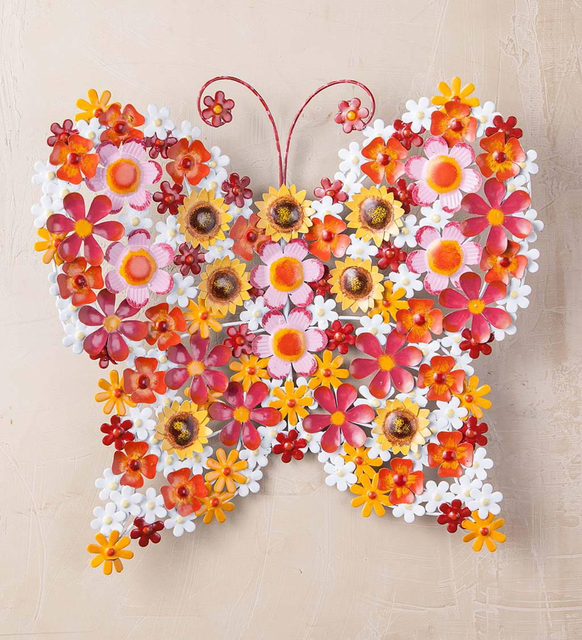 Daisy Butterfly Wall Art
