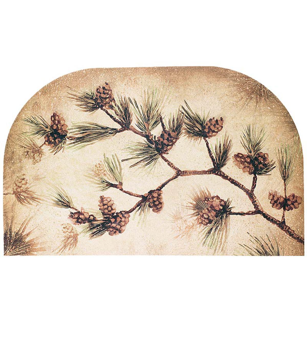 Pine Cone Hearth Rug