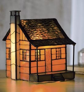 Tiffany-Style Cabin Accent Light