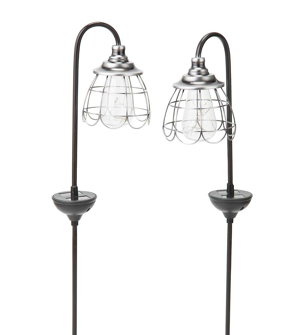 Solar Firefly Garden Pathway Lights, Set of 2 swatch image