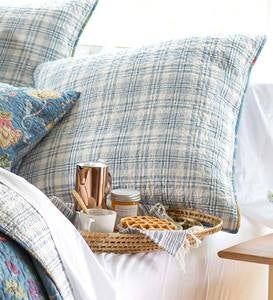 Jenni Plaid Euro Sham