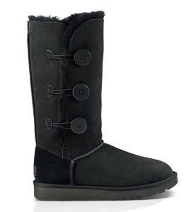 UGG Women's Bailey Button Triplet II Boots - Black - Size 10