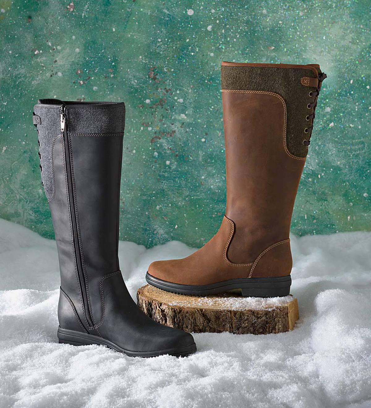 Clarks Women's Tavoy Cedar Tall Boots