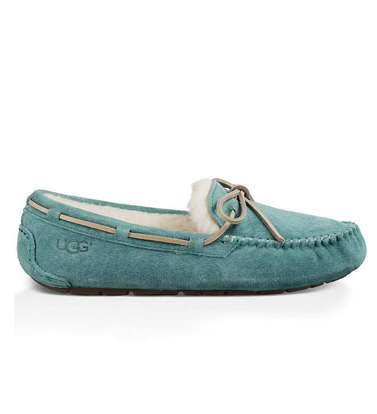 UGG Australia Womens Dakota Moccasin Slippers - Atlantic - Size 10