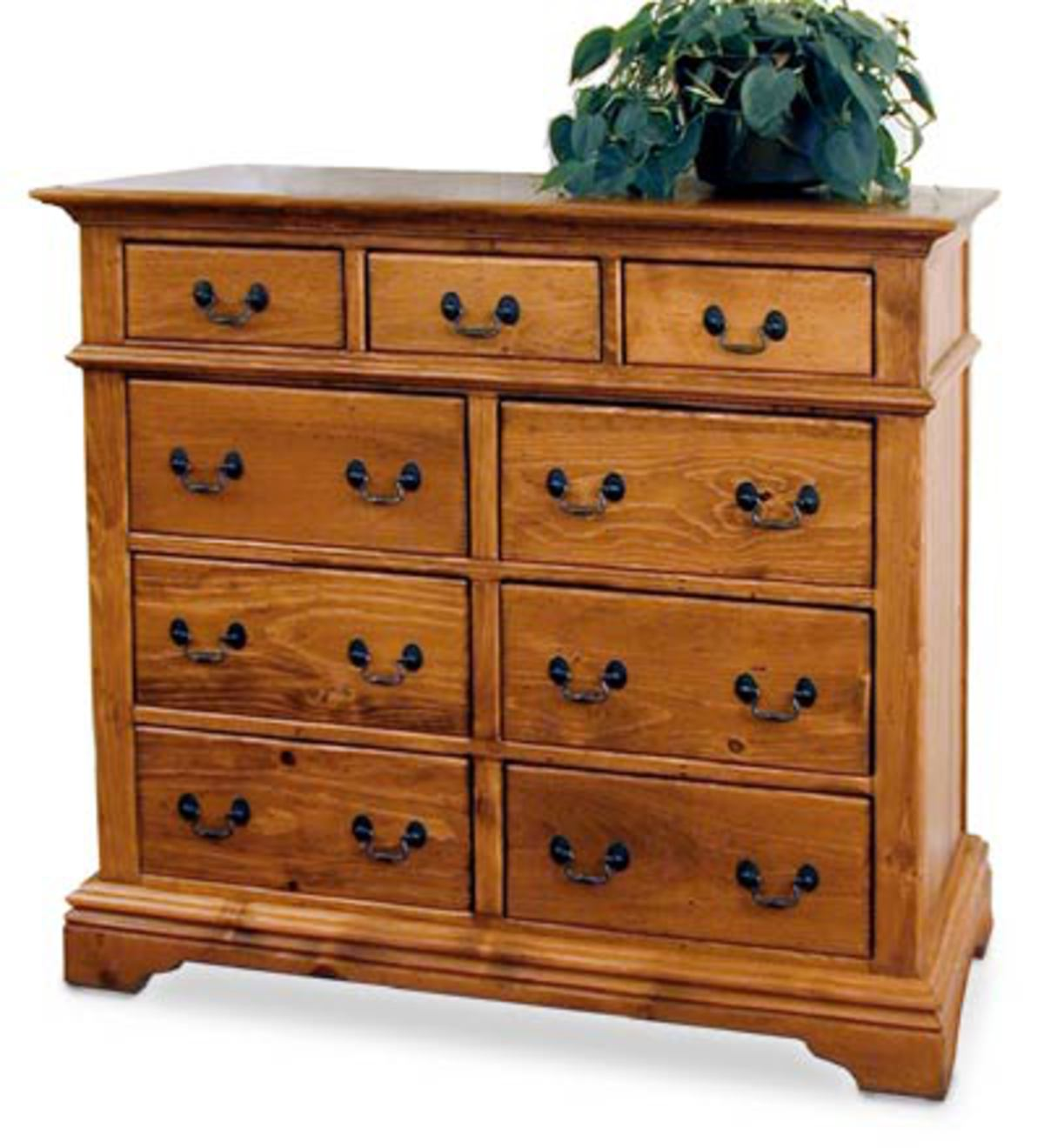 Forsythe High Chest in Solid Pine