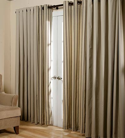 Thermalogic™ Energy Efficient Insulated Solid Tab-Top Curtains