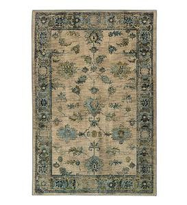 Covington Ivory Floral Area Rugs