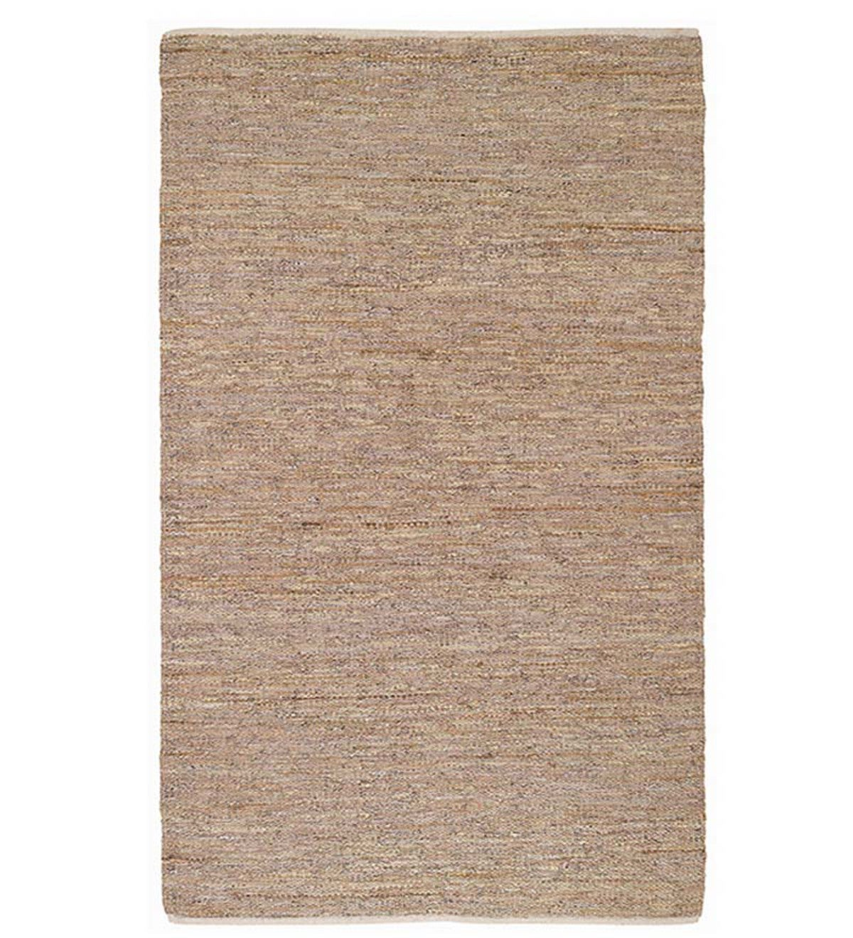 Lariat Recycled Leather Rug, 3' x 5'