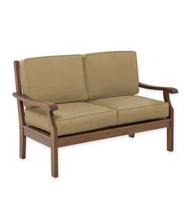 Claremont Deep Seating Love Seat with Cushions
