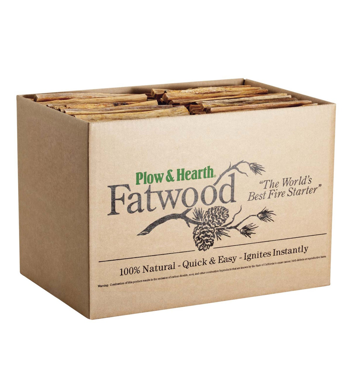 Fatwood Fire-Starter, 30 lb. Box
