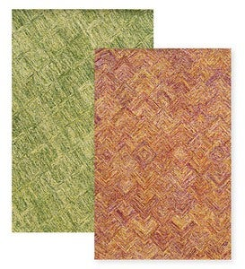 "Colorscape Wool Rug, 3'6""x 5'6"" - Green"