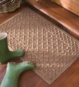 Cable Weave Waterhog™ Doormat