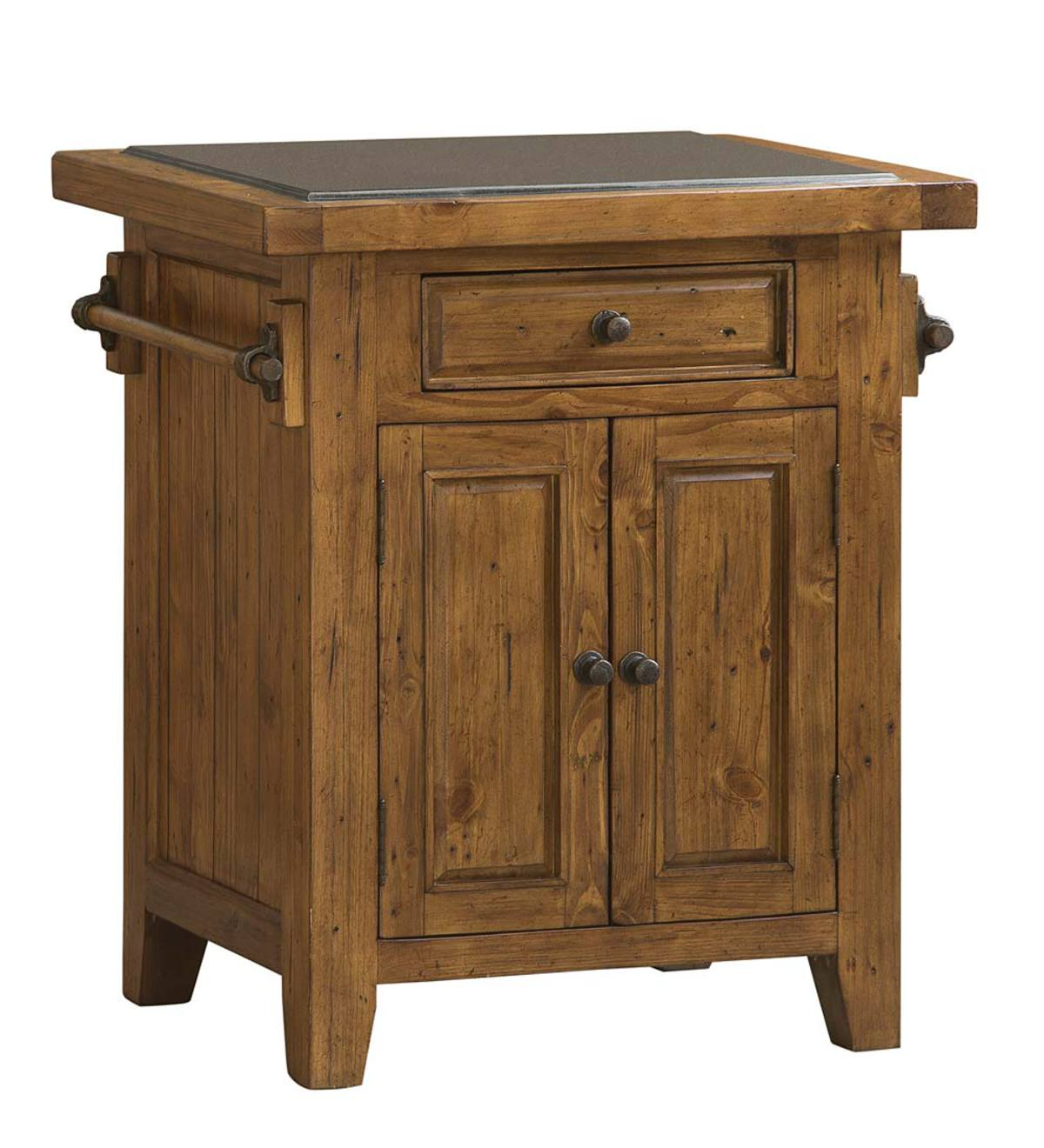 Florence Granite-Top Small Kitchen Island