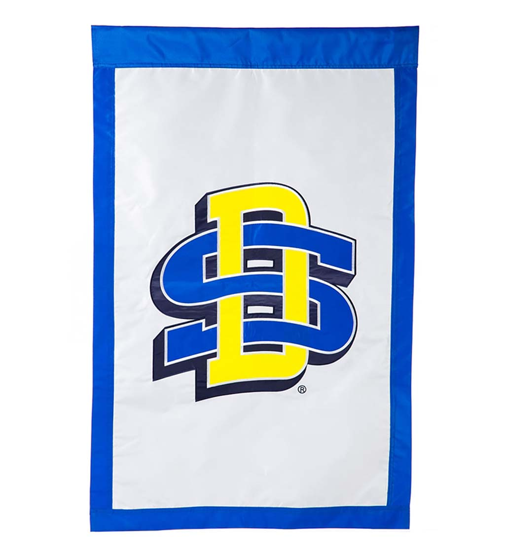 Double-Sided College Team Pride Applique House Flag swatch image