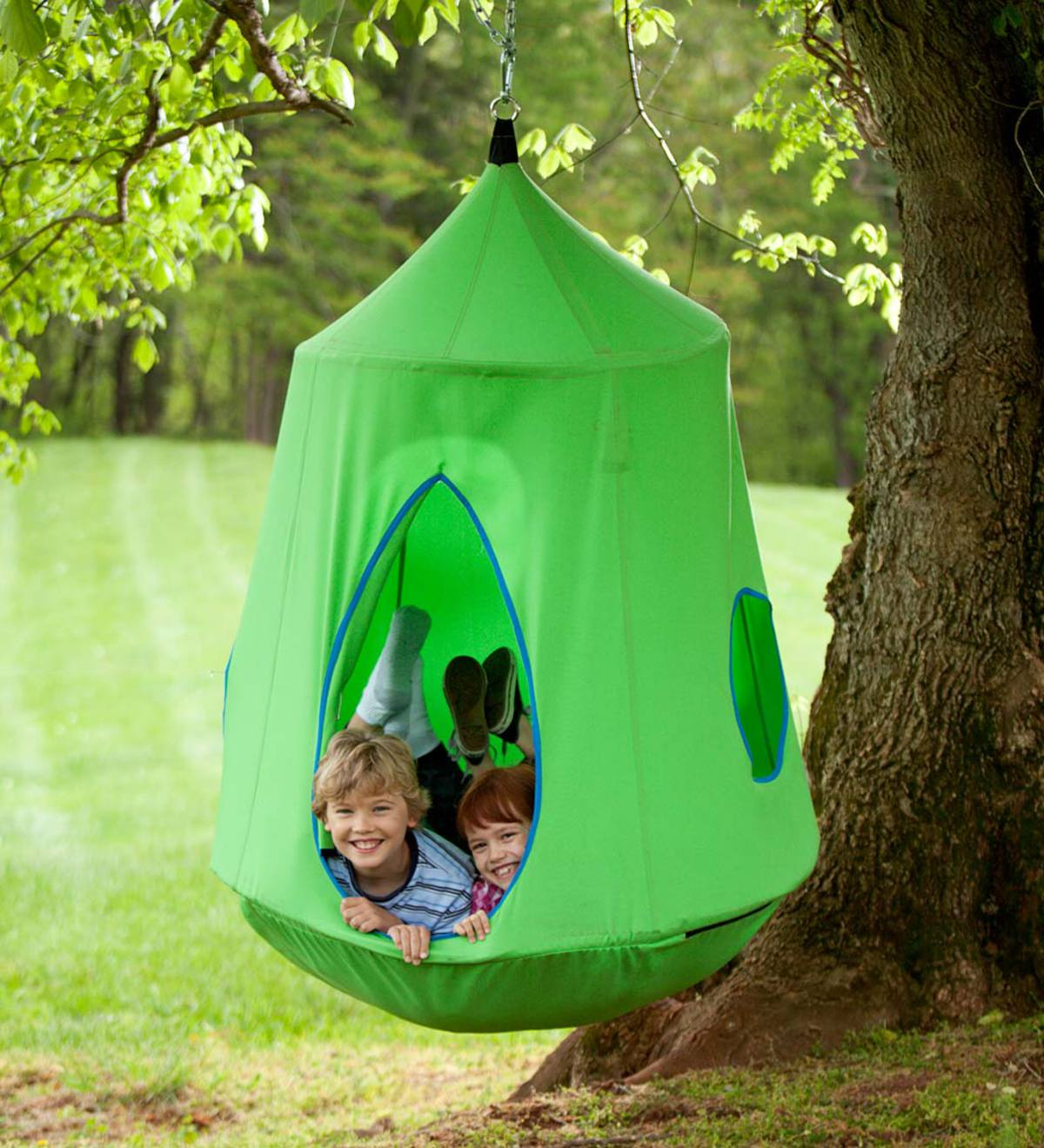 HugglePod HangOut with LED Lights - Green