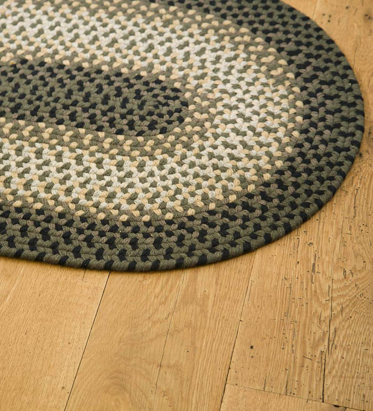Usa Made Wool Braided Virginia Rug Braided Rugs Plowhearth