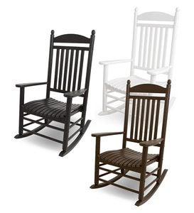Outdoor POLYWOOD® Jefferson Rocking Chair