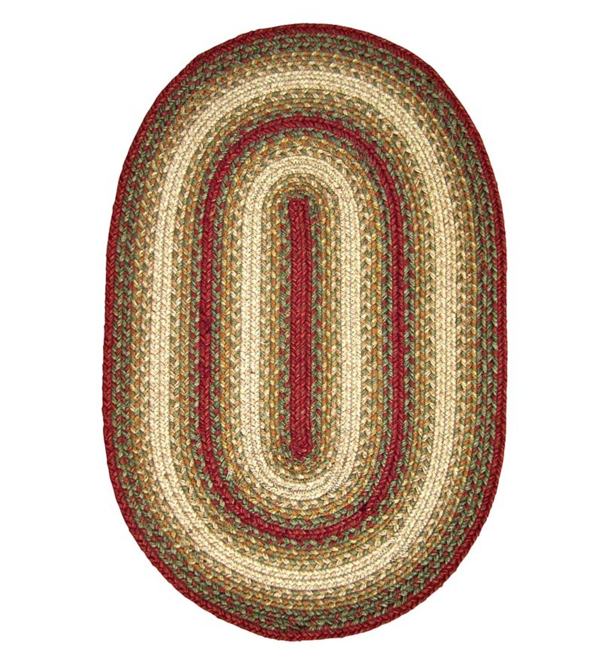 "Somerset Jute Oval Braided Rug, 2'3""x 3'9"""