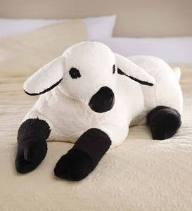 Cuddly Lamb Body Pillow