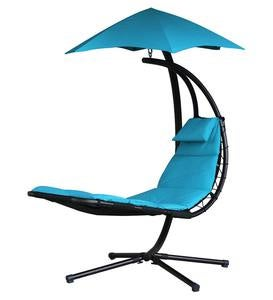 Daydream Lounger with Umbrella - Apple Green