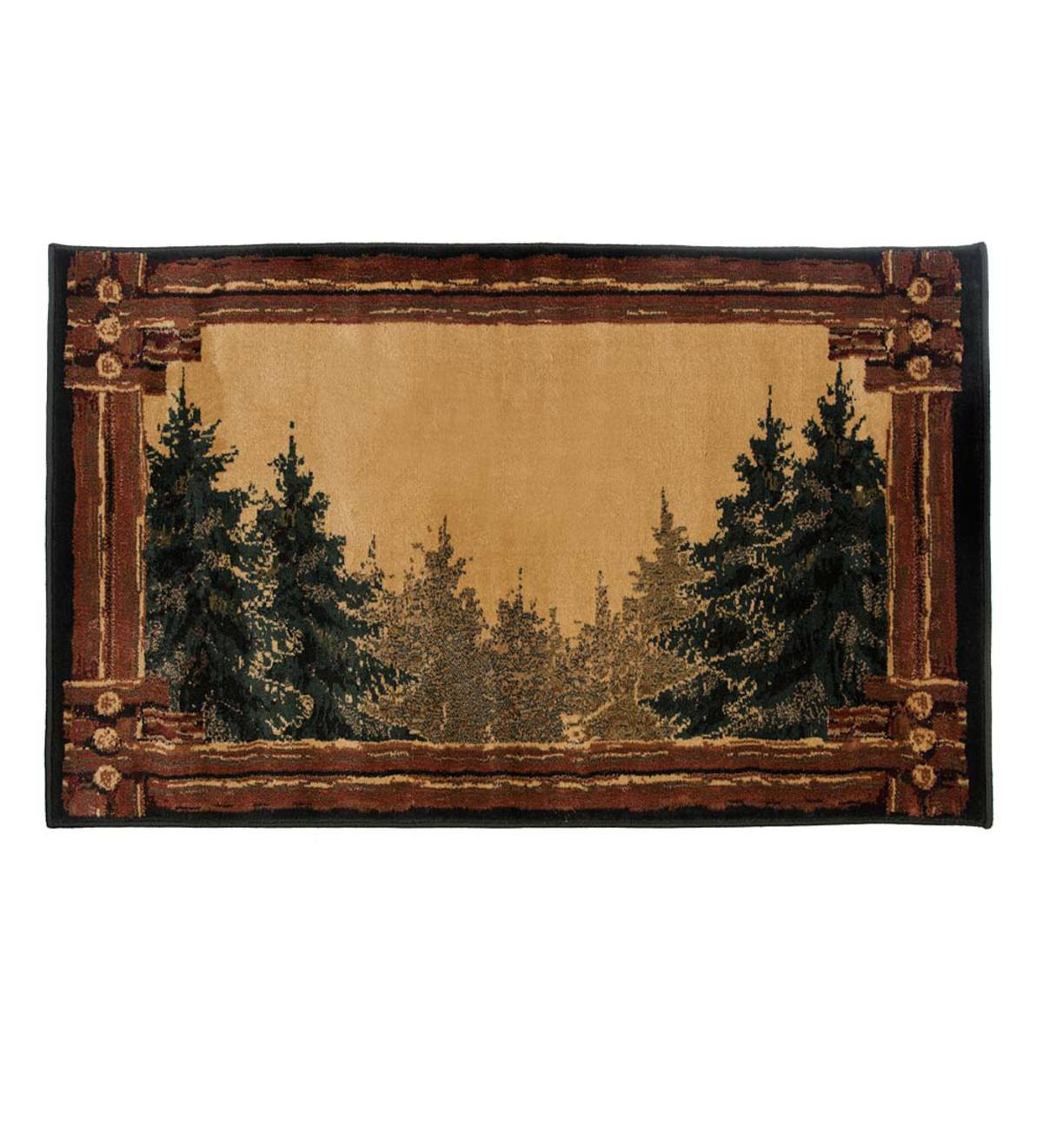 "Forest Trail Area Rug, 30""W x 50""L"