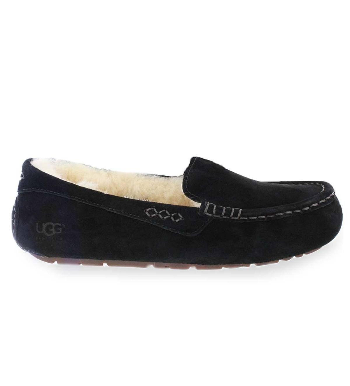 e15c09010 UGG Australia Ansley Moc Slippers - Black - Size 5