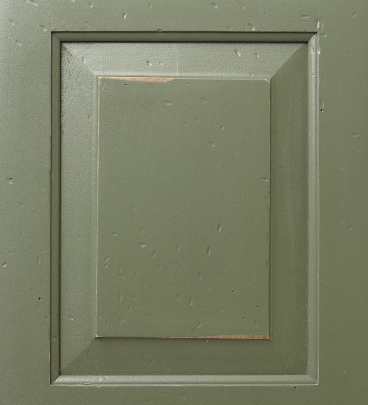Corner Cupboard - Avocado Green