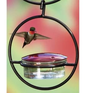 Hanging Sphere Hummingbird Feeder