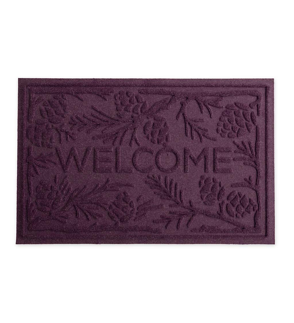 Waterhog Pine Welcome Doormat, 2' x 3'