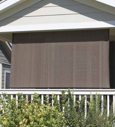 All-Weather Outdoor Solar Shade, 10'W x 6'L