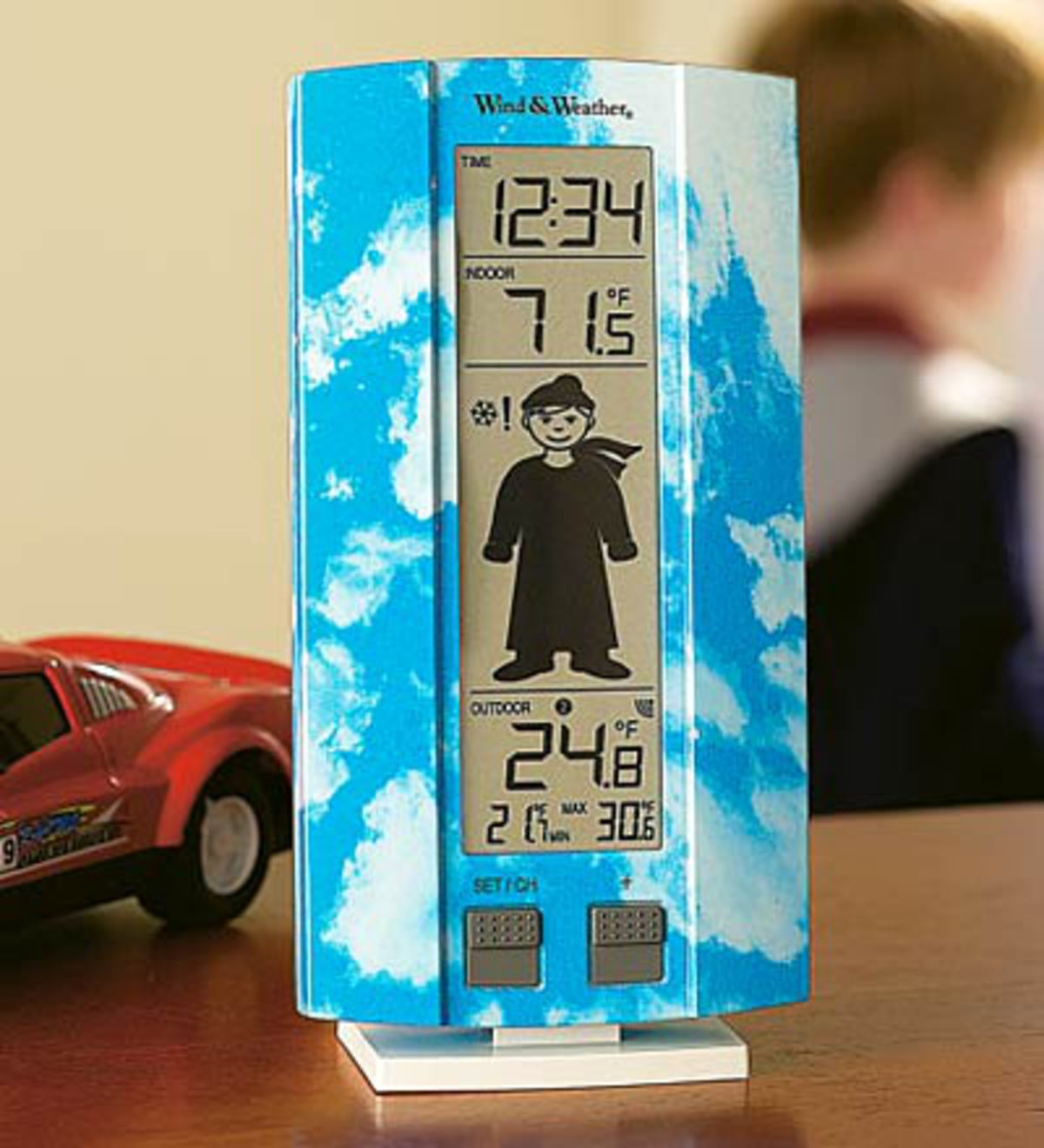 My First Weather Station with Boy or Girl Motif