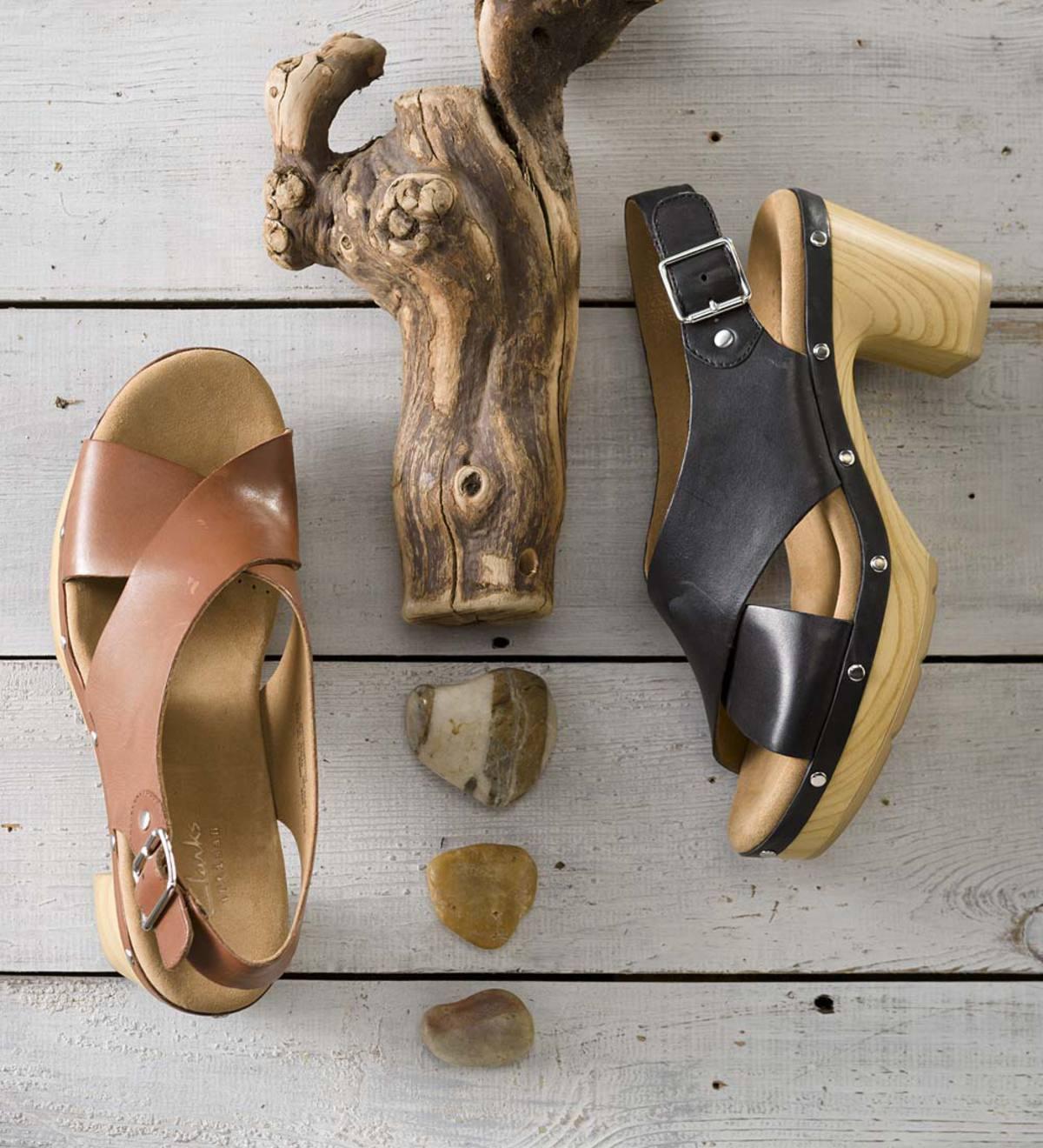 Clarks® Women's Ledella Club Slingback Wedge Sandals