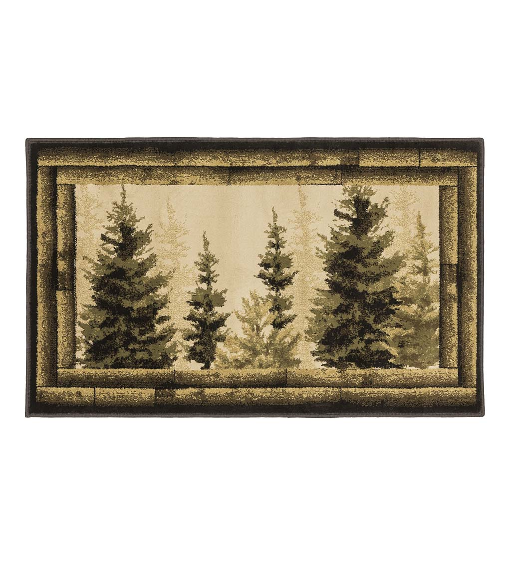 "Vista Forest Trees Rug, 30"" x 50"""
