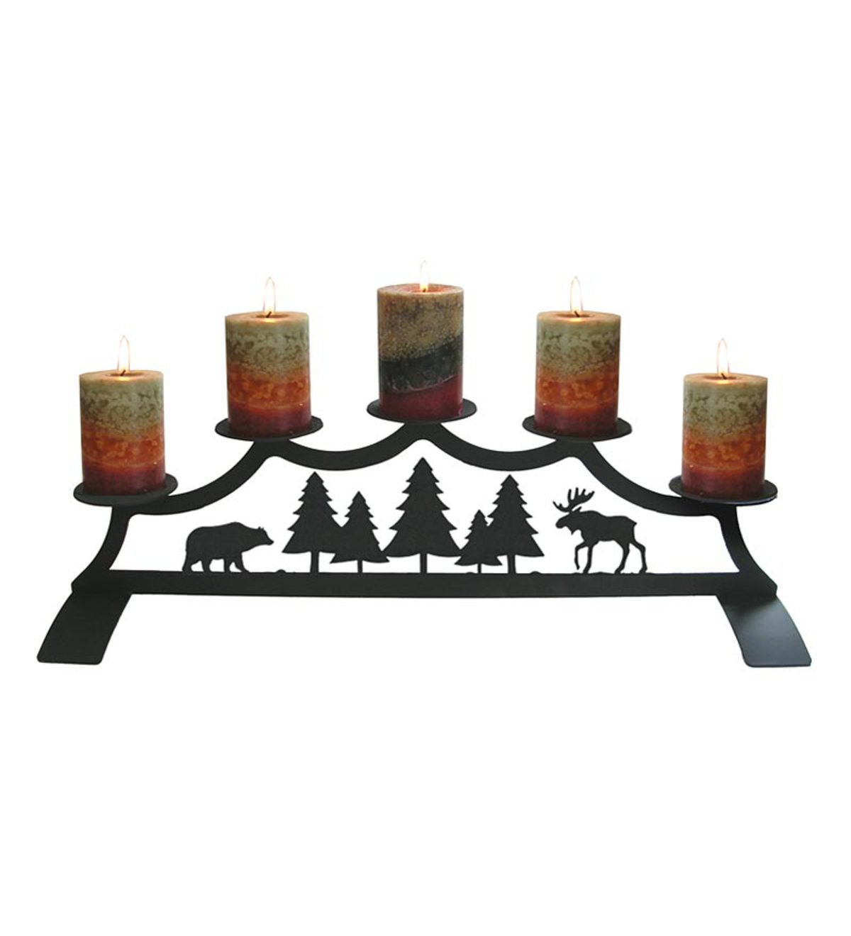 Bear&Moose Fireplace Candelabrum
