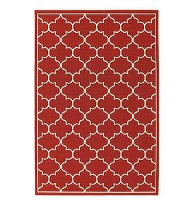 Indoor/Outdoor Lexington Quatrefoil Rug
