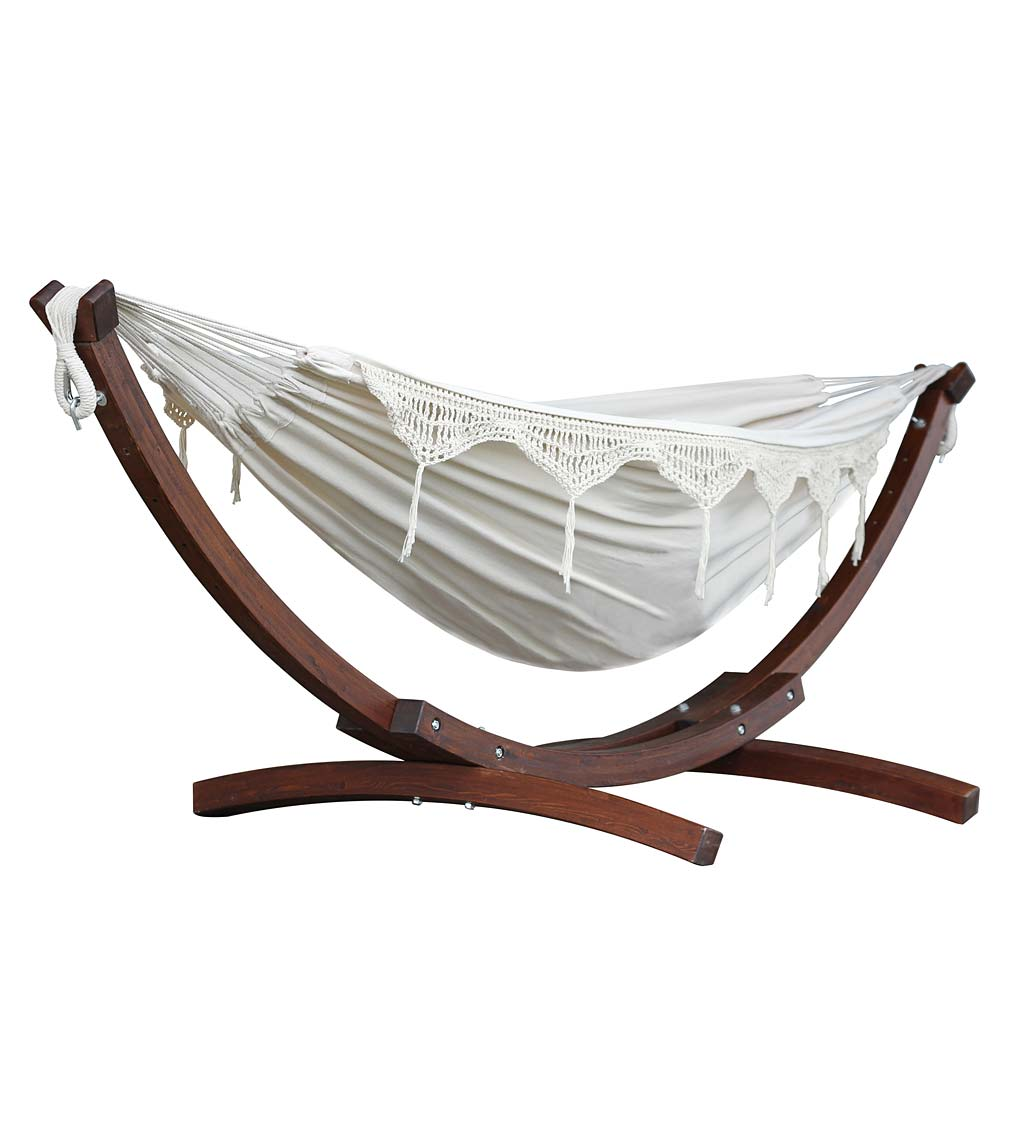 Double Hammock with Stand swatch image