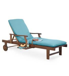 Claremont Eucalyptus Outdoor Chaise Lounge