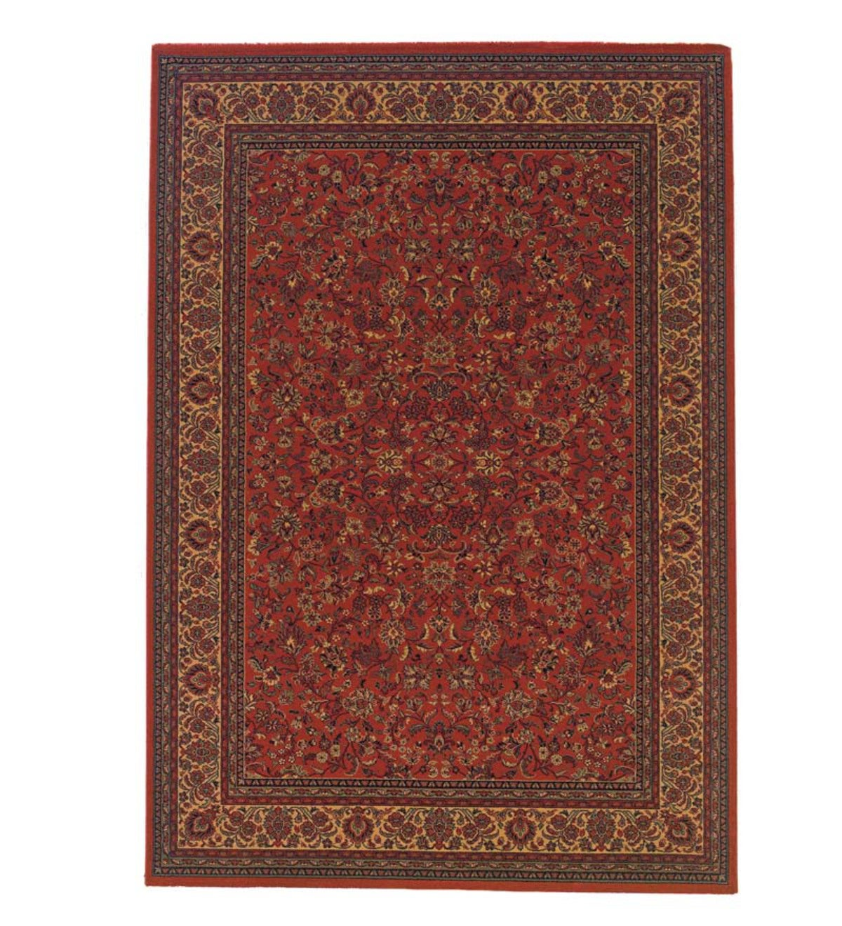 "5'3""x 7'6""High-Performance Polypropylene Everest Rug - Red"