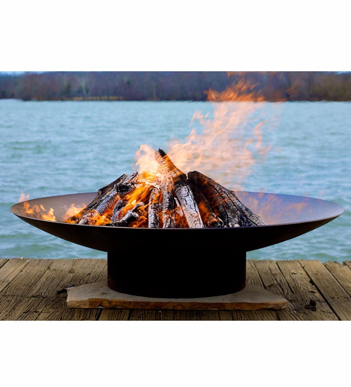 American-Made Handcrafted Asia Outdoor Fire Pit