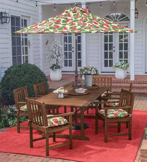 Lancaster Extension Table Set, Extension Table and 6 Chairs
