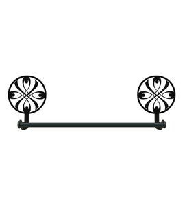 USA-Made Wrought Iron Decorative Towel Bars